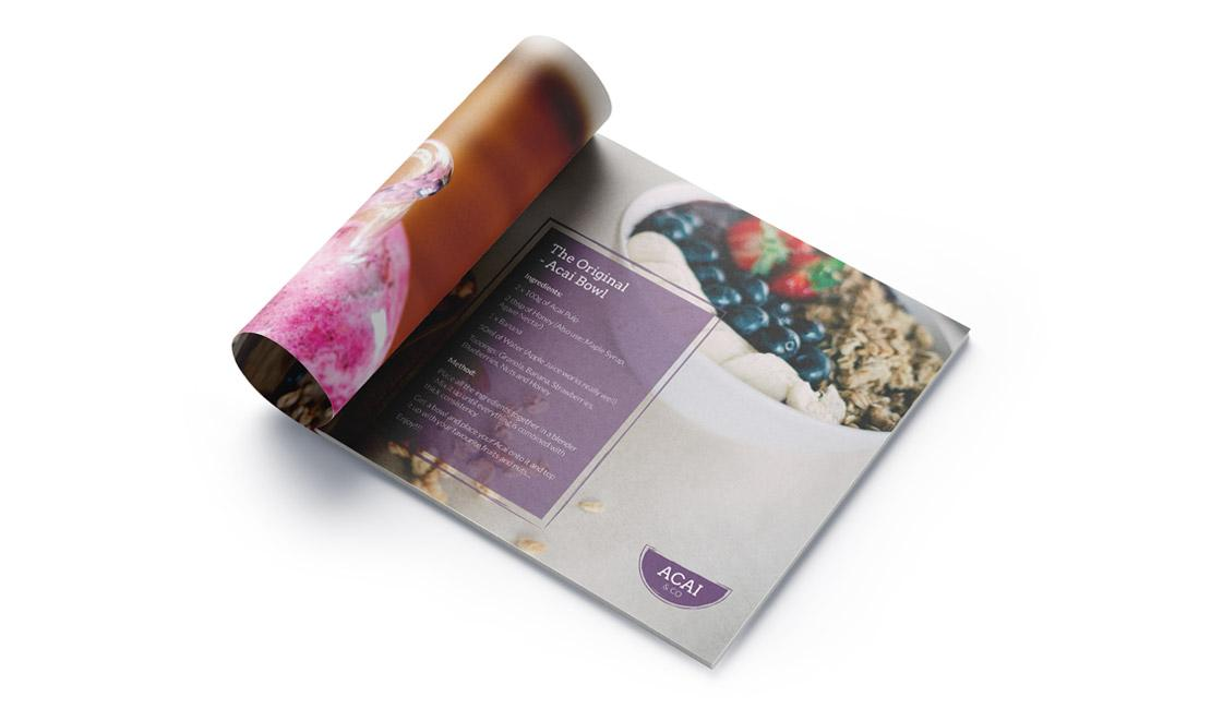 Acai and co recipe booklet