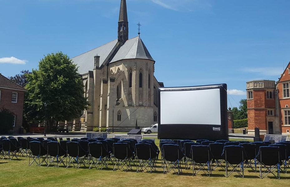 The Lost Cinema outdoor event