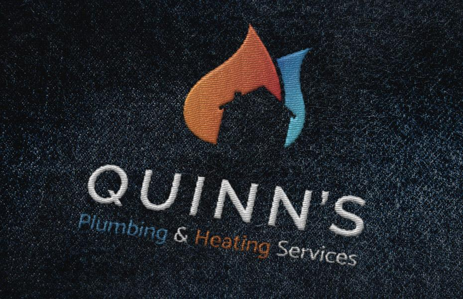 Quinns embroidered logo