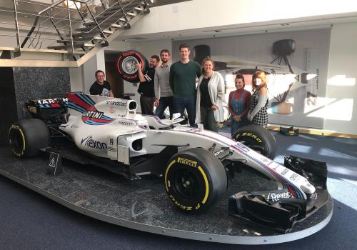 Team day at Williams F1.