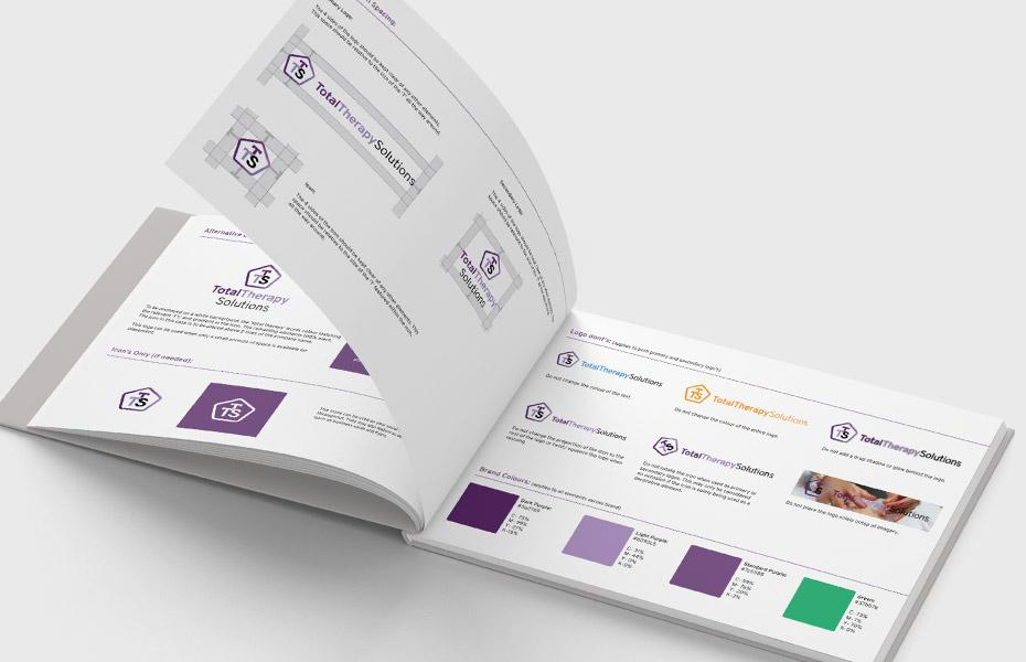 total therapy solutions brand guidelines