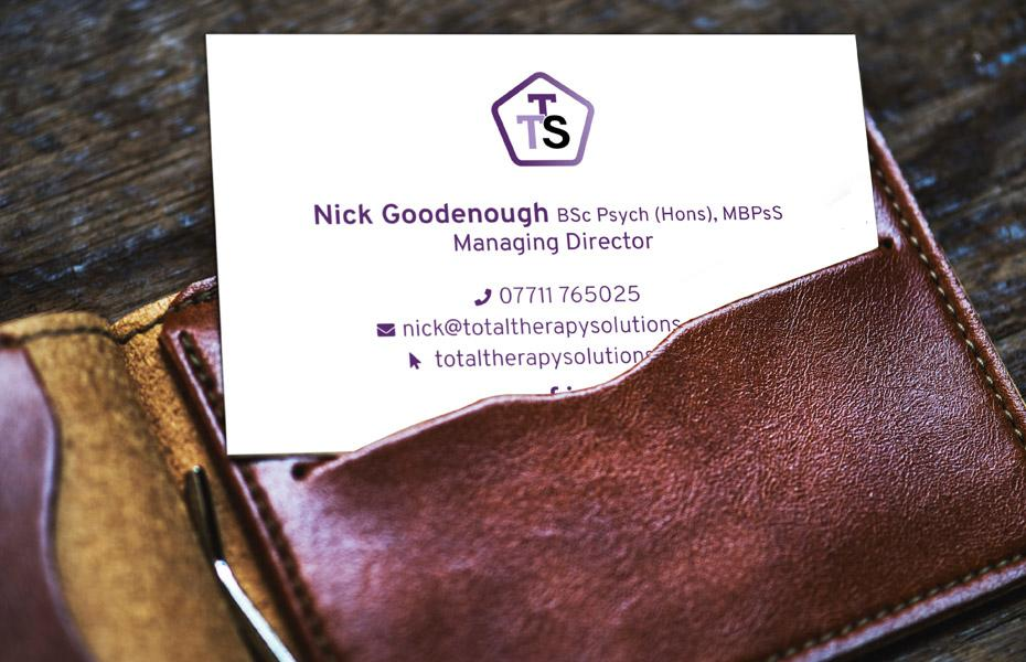 total therapy solutions business card