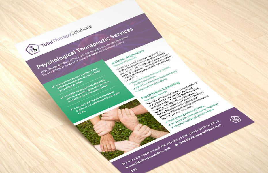 total therapy solutions flyer